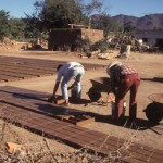 Adobe brick makers in Alamos, Sonora, Mexico. Photo by Anders Tomlinson.