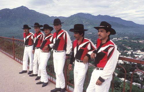 Halcon de la Sierra Alamos, music group, Alamos, Sonora, Mexico.  Photo by Anders Tomlinson.