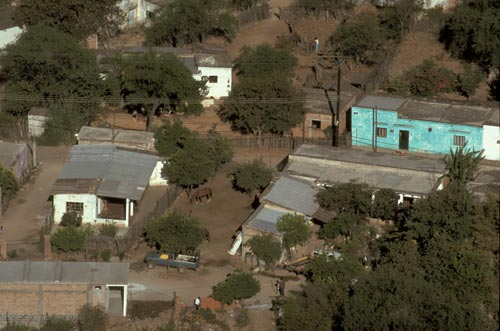Barrio El Barranco, Alamos ,Sonora, Mexico. Photo by Anders Tomlinson.