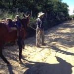 El Camino Real leaving Alamos, Sonora, Mexico.