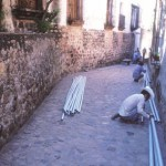 Fiber optics installation, Alamos, Sonora, Mexico. Photo by Anders Tomlinson