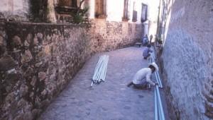 Fiber optics installation, Alamos, Sonora, Mexico. Photo by Anders Tomlinson