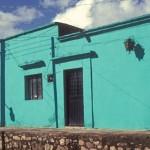 House in Barrio El Barranco, Alamos, Sonora, Mexico. Photo by Anders Tomlinson.