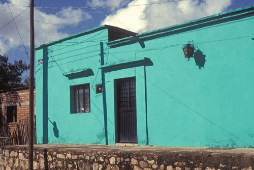 House in Barrio El Barranco, Alamos, Sonora, Mexico.  Photo by Anders Tomlinson.