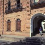 The Palacio Municipal in Alamos, Sonora, Mexico. Photo by Anders Tomlinson.