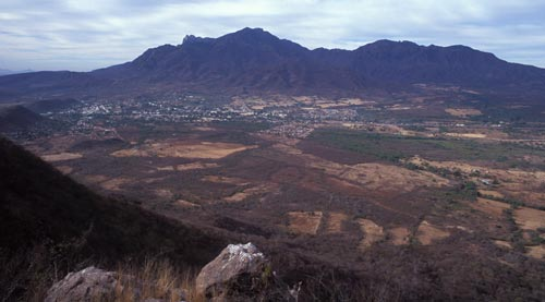 Looking at Alamos, Sonora, Mexico from the north.  Photo by Anders Tomlinson.