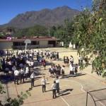 Paulita Verjan schoolyard, Alamos, Sonora, Mexico. Photo by Anders Tomlinson.