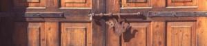 cat on door, Alamos, Sonora, Mexico.