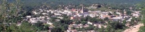 Alamos, Sonora , Mexico seen from Red Cross Hill in the Summer. Photo by Anders Tomlinson