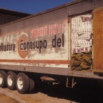 Conasupo truck, Alamos, Sonora, Mexico. Photo by Anders Tomlinson.