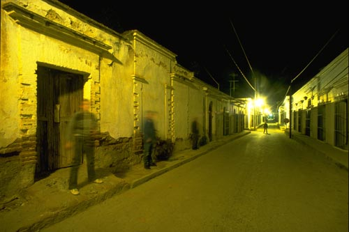 Film crew  as ghosts, Alamos, Sonora, Mexico.  Photo by gary Ruble.