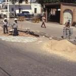 repaving street, Alamos, Sonora, Mexico. Photo by Anders Tomlinson.