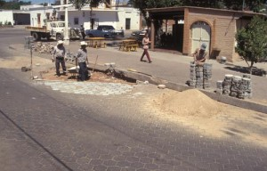 repaving street, Alamos, Sonora, Mexico. Photo by Anders Tomlinson.