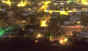 Barrio Tacubayo at night, Alamos, Sonora, Mexico. Photo by Anders Tomlinson.