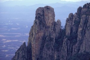 Granite Outcroppings on Sierra de Alamos, Alamos, Sonora, Mexico. Photo by Anders Tomlinson