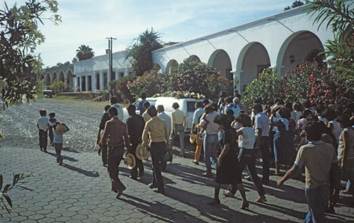 Funeral procession, Alamos, Sonora, Mexico.  Photo by Anders Tomlinson.
