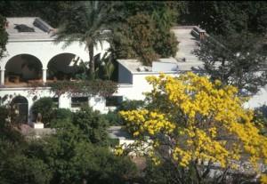 Home on Calle Delicias, Alamos, Sonora, Mexico. Photo by Anders Tomlinson.