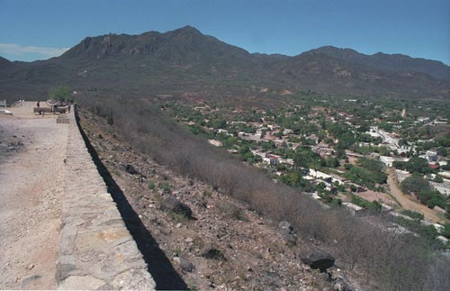 looking south from El Mirador, Alamos, Sonora, Mexico.  Photo by Anders Tomlinson.