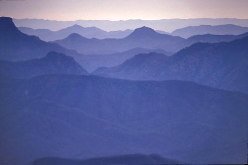 Looking east at the Sierra Madre, Alamos, Sonora, Mexico. Photos by Anders Tomlinson.