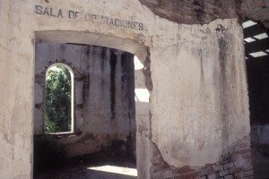 Operating room ruin, Alamos, Sonora, Mexico. Photo by Anders Tomlinson.