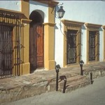 The old fort off the main Plaza in Alamos, Sonora, Mexico. Photo by Anders Tomlinson.