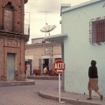 The jog where on Calle Cardenas, Alamos, Sonora, Mexico. Photo by Anders Tomlinson