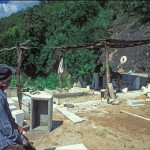 The tombstone makers, Alamos, Sonora, Mexico. Photo by Anders Tomlinson.