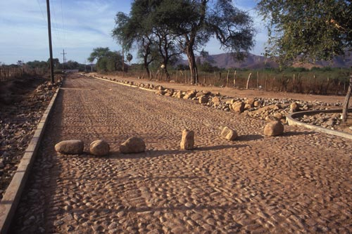 Road is closed for repairs, Alamos, Sonora, Mexico.  Photo by Anders Tomlinson.