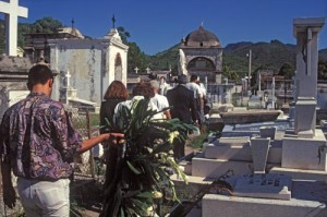 Procession through the cemetery, Alamos, Sonora, Mexico. Photo by Anders Tomlinson.