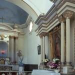 Pulpit, Bishop Reyes Cathedral interior, Alamos, Sonora, Mexico. Photo by Anders Tomlinson.