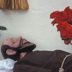 Resting Priest, Bishop Reyes Cathedral, Alamos, Sonora, Mexico. Photo by Anders Tomlinson.