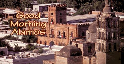 palacio and church, alamos, sonora, mexico. photo by anders tomlinson.