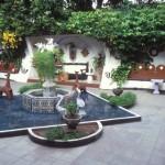 Casa Roberto, Casa Obregon 18 sala, roberto bloor's patio. alamos, sonora, mexico. photo by anders tomlinson.