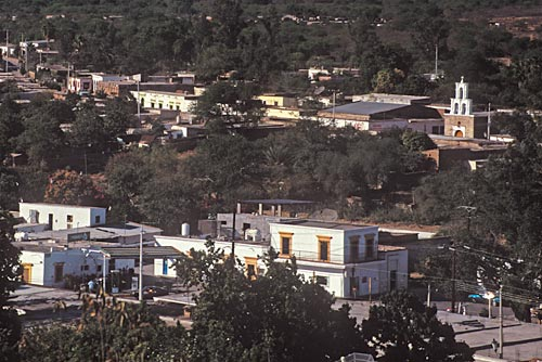 1995 - Looking northwest from Guadalope Hill. Photo: Anders Tomlinson. alamos sonora mexico