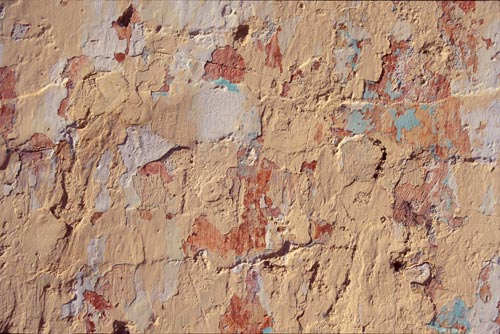 wall color and texture, peeling paint, alamos sonora mexico. photo by anders tomlinson.