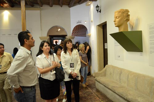 inside the Museo Costumbrista de Sonora.  april 5th, 2014 opening of an Maria felix exhibition.  alamos, sonora, mexico.   photo - Joel Gastélum