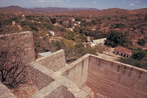 mine ruins in la aduana, sonora, mexico. which is seven miles west of alamos, sonora, mexico  photo by anders tomlinson
