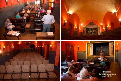 Teatro Almada , Hacienda de los Santos, Álamos, ßonora, Méxicoi. Photos by Errol Zimmerman