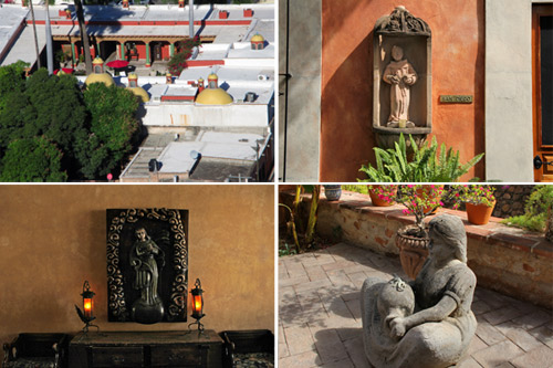 Details at Hacienda de los Santos, Álamos, ßonora, México. Photos by Anders Tomlinson, March 2017.
